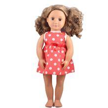 58eb1f6110ae476 Одежда для кукол подходит 18 дюймов девочка кукла 43 см детская кукла  высокое качество новый красивый