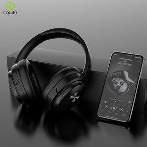 Image 3 - Cowin Se7 Anc Bluetooth Headset Actieve Ruisonderdrukkende Hoofdtelefoon Draadloze Headset Met Microfoon Aptx Headset 30db