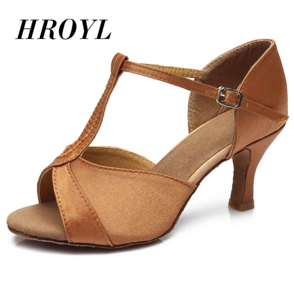Zapatos de baile de salón para niña zapatos de baile de tango de Salsa latina profesional de Mujer Zapatos de tacón de alta calidad de 7 cm/5 cm