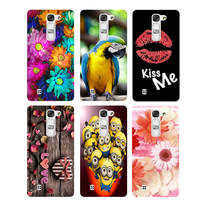 Soft TPU Silicone Case for LG Magna H502 H502F H520N C90 G4mini G4C H525N Printed Back Cover Flamingo Cat Owl Animal Phone Case image