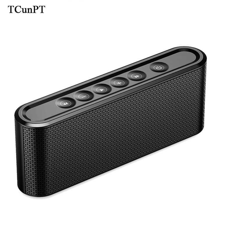 TCunPT Новый портативный Bluetooth динамик Hifi беспроводной Stero Soundbox Super Bass двойные