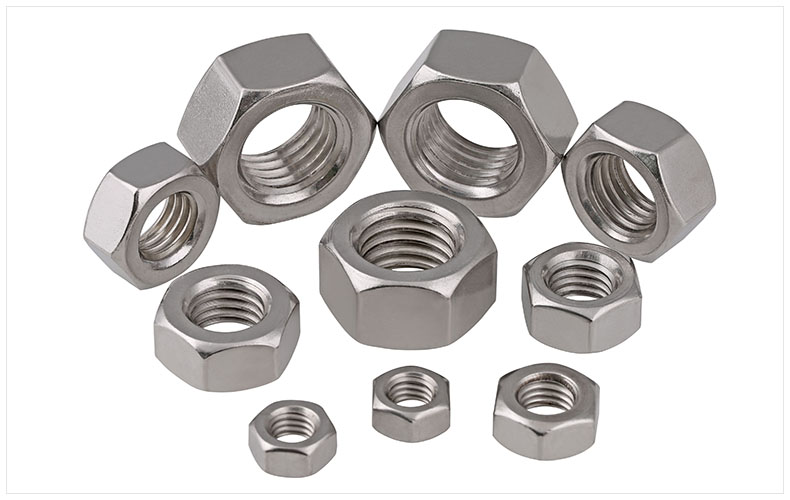 DIN934 304 stainless steel hexagon nuts M1 M1.2 M2 M2.5 M3 M4 M5 M6 M8 M10 M12 M14 M16 M18 M20 M22 M24-M30 nut cap screw cap 10pcs din582 m3 m4 m5 m6 m8 m10 m24 304 stainless steel marine lifting eye nut ring nut thread hw108