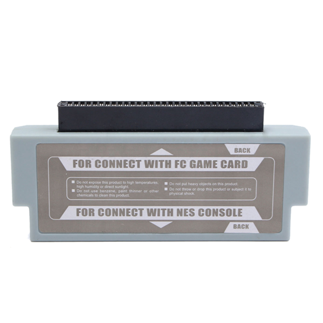 цена на FC To NES 60 Pin To 72 Pin Adapter Converter For Nintendo NES Console System