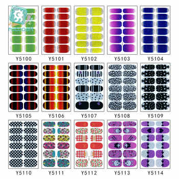 200pcs/lot YSeries Wholesale NAIL WRAPS STICKERS Full Self Adhesive Nail Foils Decoration Art Decals - Category 🛒 Beauty & Health
