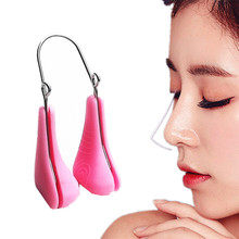 2018 new Nose Up Lifting Shaping Bridge Nose Corrector Beauty Massager Clip No Pain to
