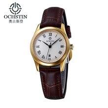 Ochstin Ar Watch Women Brand Luxury With Logo Calendar Women Watches Leather Strap Small Dial Montre Femme Quartz-Watch