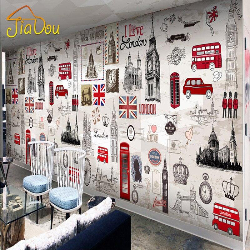 papier peint londres promotion achetez des papier peint londres promotionnels sur. Black Bedroom Furniture Sets. Home Design Ideas