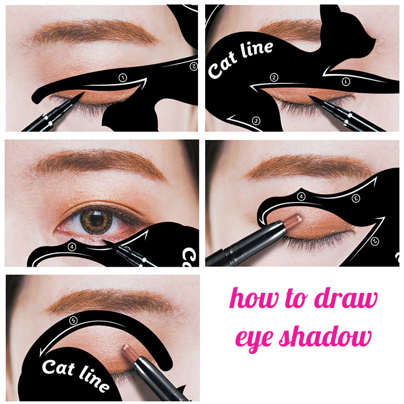Cat Eye Stencil Kit