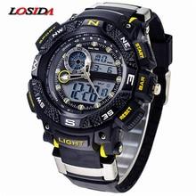 Losida G Style Shock Waterproof Outdoor Sports Watches Men Quartz Watch Clock Digital Military LED Wrist Watch Relogio Masculino
