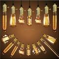 Uno de los estadounidenses luces pendientes Vintage portalámparas cobre Edison Industrial lámparas E26 / E27 110 - 220 V 110 cm antiguos bulbos