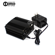 US Plug DC 48V Phantom Power Supply Condenser Microphone For Computer PC Laptop Wired Mic Broadcast Studio Recording Microphones