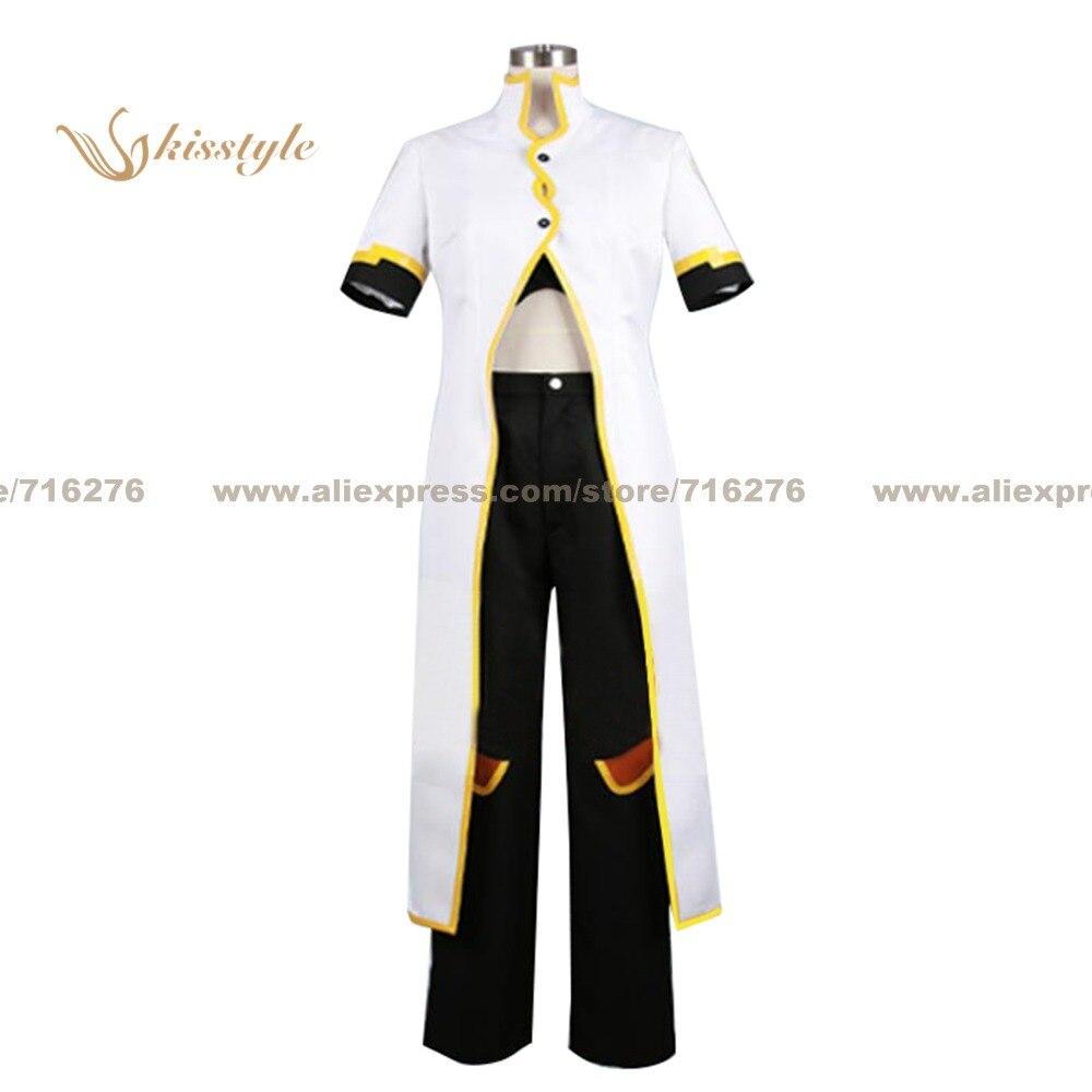 Kisstyle mode contes de l'abîme Luke fon Fabre uniforme blanc COS vêtements Cosplay Costume, personnalisé accepté