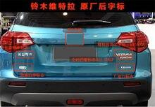 Oryginalne części Car styling ABS poszycie bagażnik samochodowy bagażnik Logo napis ogon moc T wszystkie GRIP EASS Logo pasuje do Suzuki Vitara