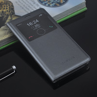 Cases For Huawei Honor 6X High Quality View Window Flip Cover Leather Case For Huawei Honor