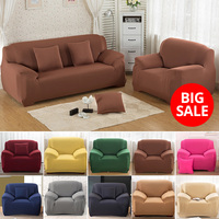 1/2/3/4 zits Elastische Sofa Cover voor Woonkamer Universele Bank Hoes Thuis Sectionele Bank cover Spandex Sofa Sover Stretch