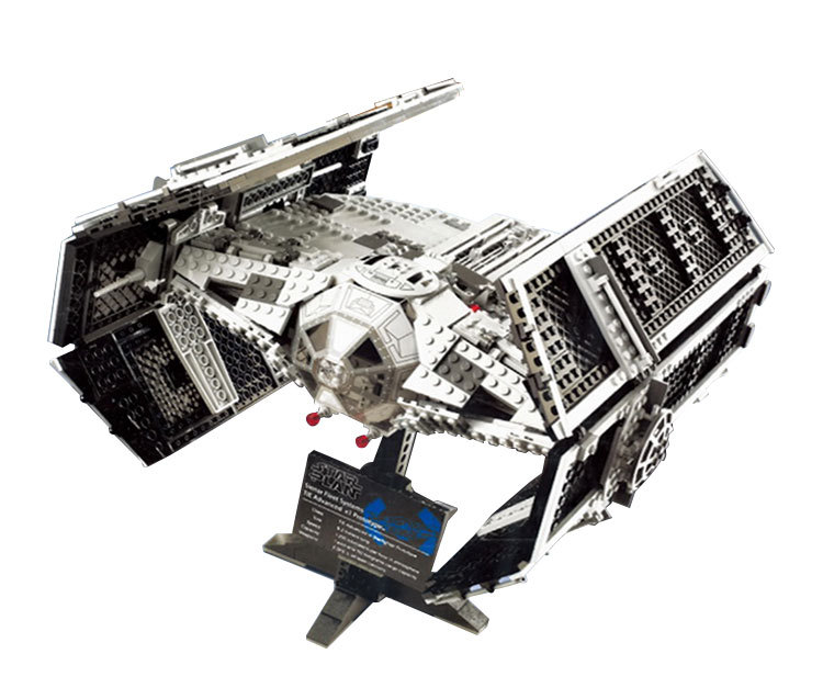 Lepin 05055 Star War Series The Rogue One USC Vader TIE Advanced Fighter Set 10175 Building Blocks Bricks Educational Toys 2017 new 1242pcs 05055 lepin star wars vader s tie advanced fighter model building kit figures blocks brick toy compatible 10175