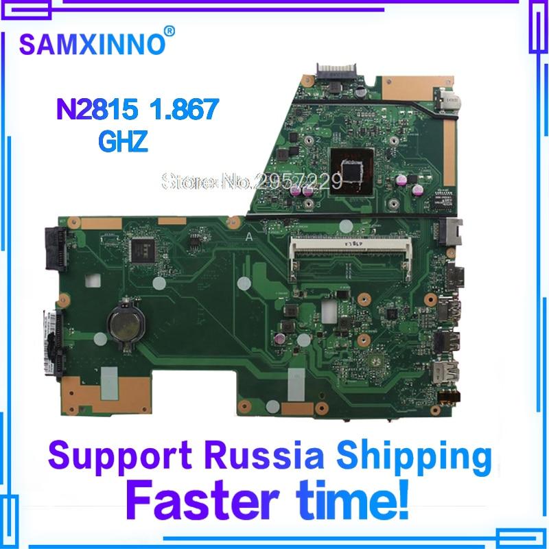 X551MA Motherboard N2815 CPU RAM For ASUSX551M D551M X551M laptop Motherboard X551MA Mainboard X551MA Motherboard test 100% OK все цены