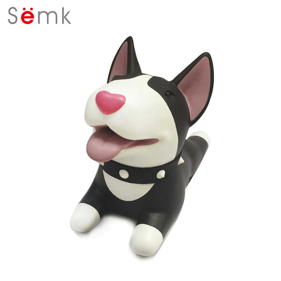 Semk Dog Door Wedge Cute Cartoon Door Stopper Holder PVC - Խաղային արձանիկներ - Լուսանկար 3