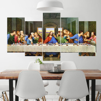last supper oil painting wall art Canvas Printings prints giclee canvas art prints poste canvas wall art cuadros pineapple