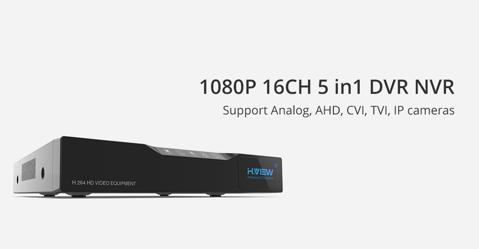 H.View 16ch NVR Video Surveillance Video Recorder CCTV DVR for Home Security Support 4TB SATA HDD 1080P Video Output H.264 DVR (1)