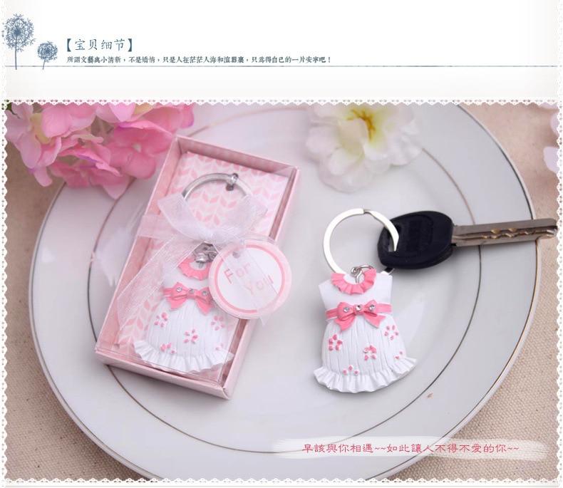 wholesale baby boy baby girl keychain birthday party gift baby shower