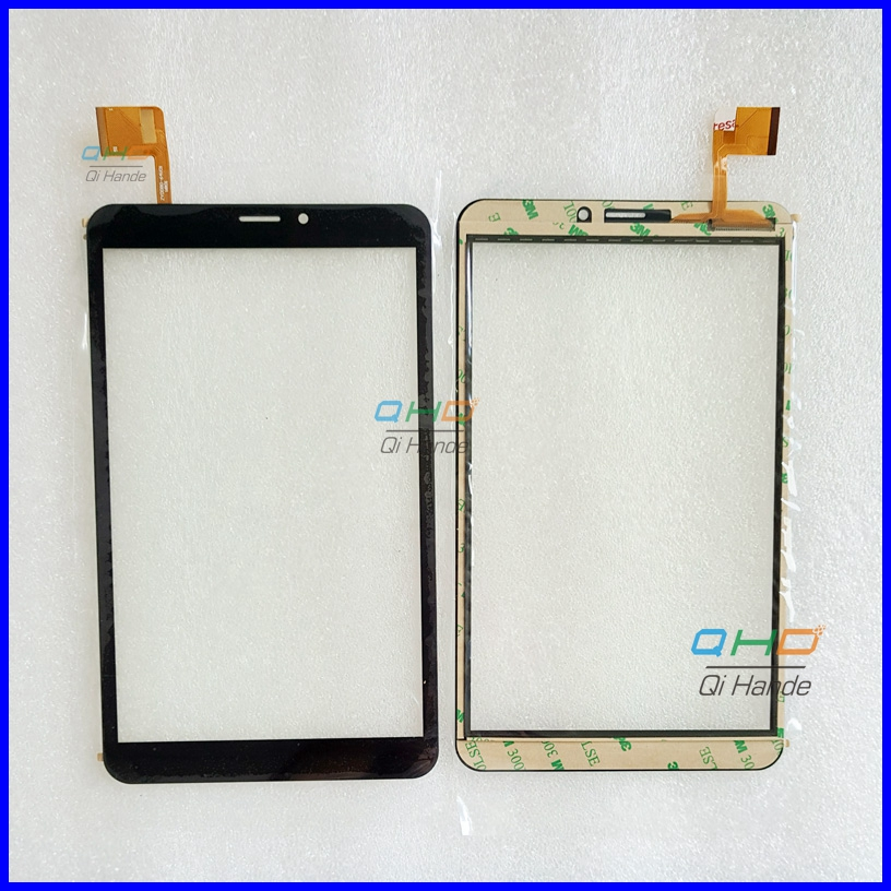 Black New Touch Screen Digitizer For 8 Prestigio MultiPad wize 3408 4G Tablet Touch panel sensor replacement Free Shipping free ship rear door of high quality acrylic moving led welcome scuff plate pedal door sill for 2013 2014 2015 audi a4 b9 s4 rs4 page 2