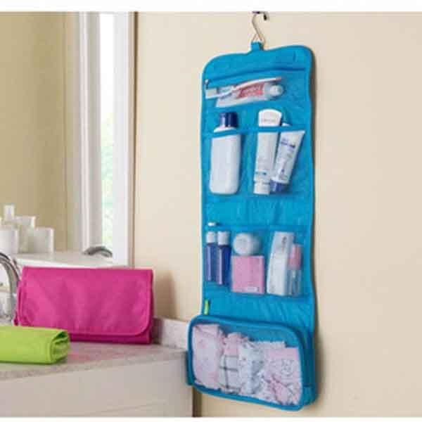 065f7430e Bolsa de maquillaje de viaje, bolsas de baño, organizador de viaje para  artículos de tocador, bolsa de cosméticos para colgar, bolsas de lavado, ...