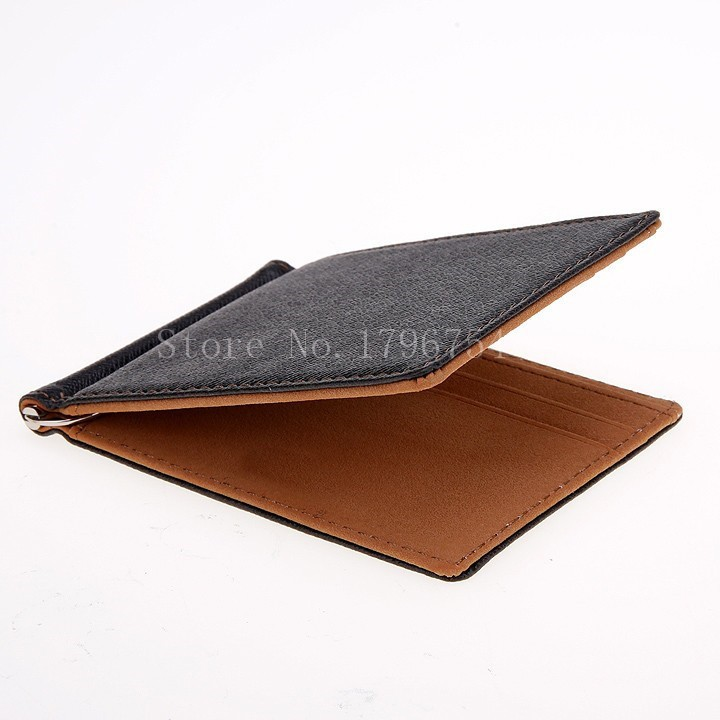 HTB1AQ2hPXXXXXclXFXXq6xXFXXXr - BLEVOLO Brand Men Wallet Short Skin Wallets Purses PU Leather Money Clips Sollid Thin Wallet For Men Purses 4 Colors