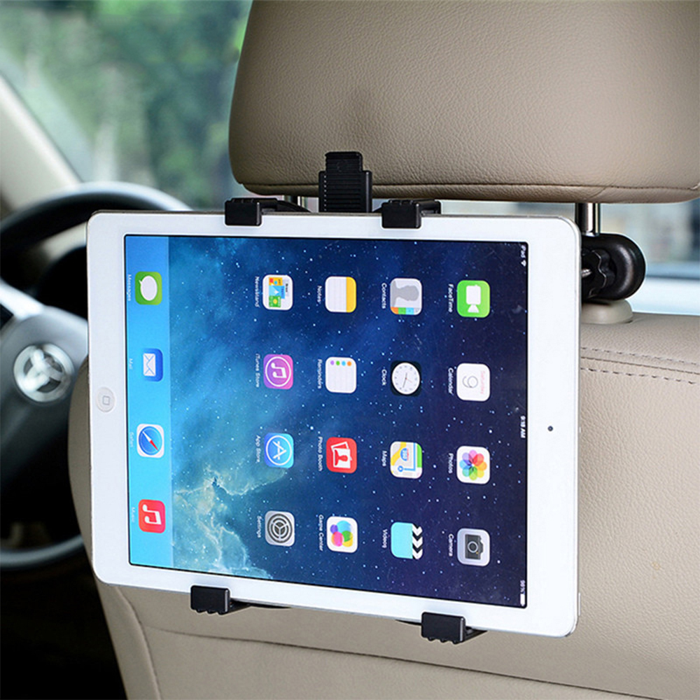Car Holder for iPhone X 8 8plus 7 6 6SPlus Car Phone Tablet Holder Stand Back Auto Seat PC Headrest Bracket holder for iPad Mini