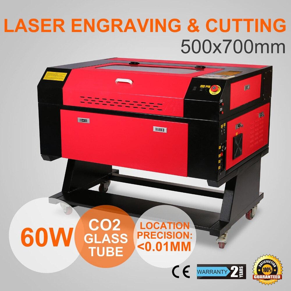 EU In Stock 60W USB CO2 Laser Engraving Machine Engraver Machine