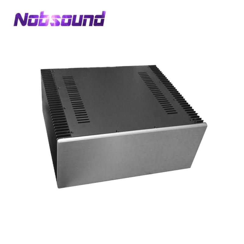 Large Aluminum Chassis Class A Power Amplifier DIYer Enclosure W480*H200*D411mm sonance large is enclosure короб