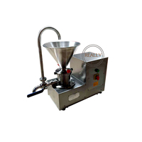 CE approved peanut colloid mill machine sesame butter making machine colloid mill