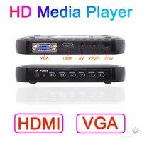 2015 New Full HD 1080P Media Player Mini Autoplay 1080p SD U Disk VGA Media Player