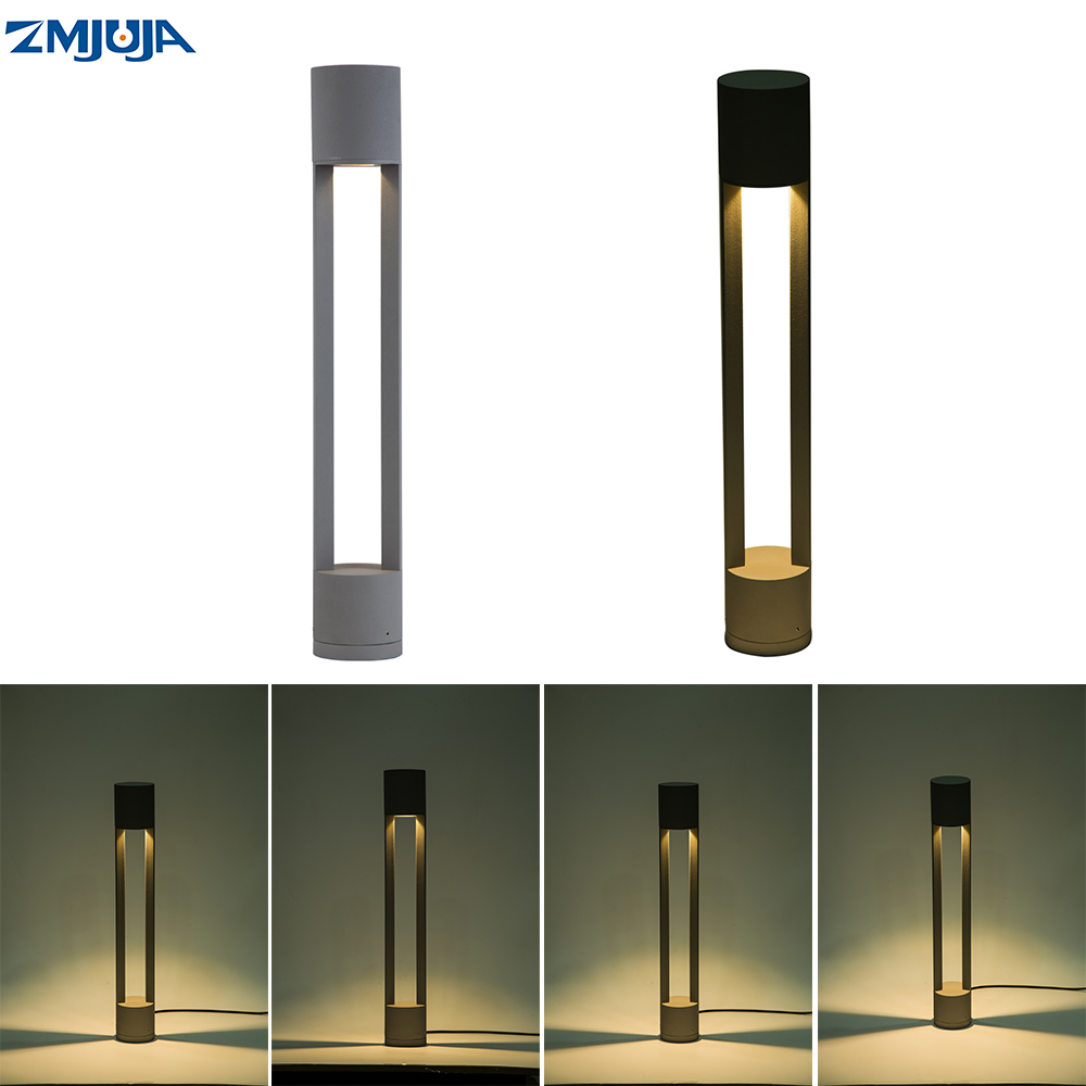 Us 61 32 38 Off Outdoor Lighting Ip65 Waterproof Led Garden Light Ac85 265v Path Standing Lamp Bollard Lights In From