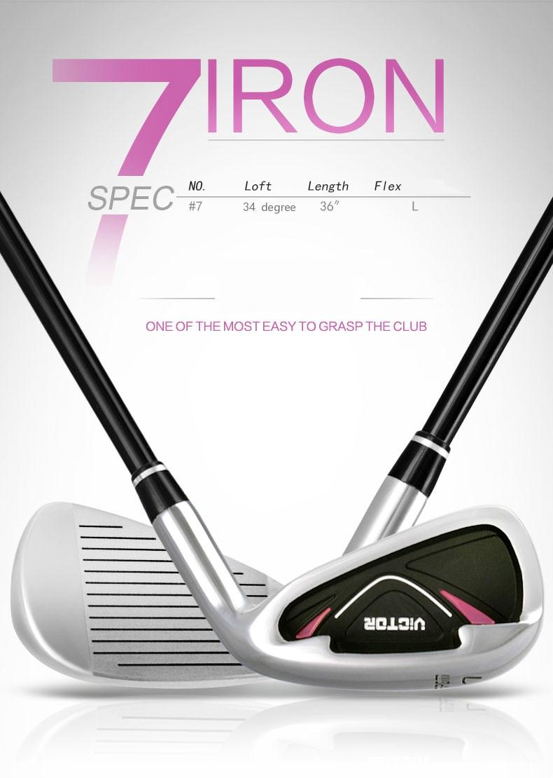 PGM Golf Club 7 pôle de conduite femelle pour Articles de Golf de fer TiG007 - 2