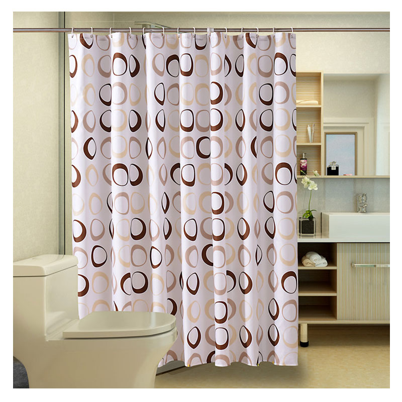 SPA Waterproof Shower Curtain Bathroom Decor Of Drape Thickening Mouldproof PEVA Curtains