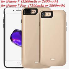 Battery Case for IPhone 7 & 7 Plus 3700mAh Ultra Thin 7500mAh