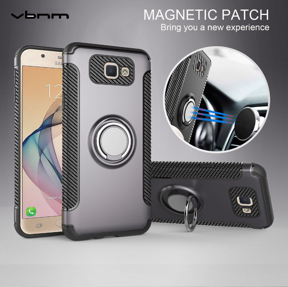 VBNM Case For Samusng Galaxy j2 j5 j7 prime Shell silicon Hard PC soft Ring armor Cover For Samusng j2 j5 j7 prime Case G530 ...
