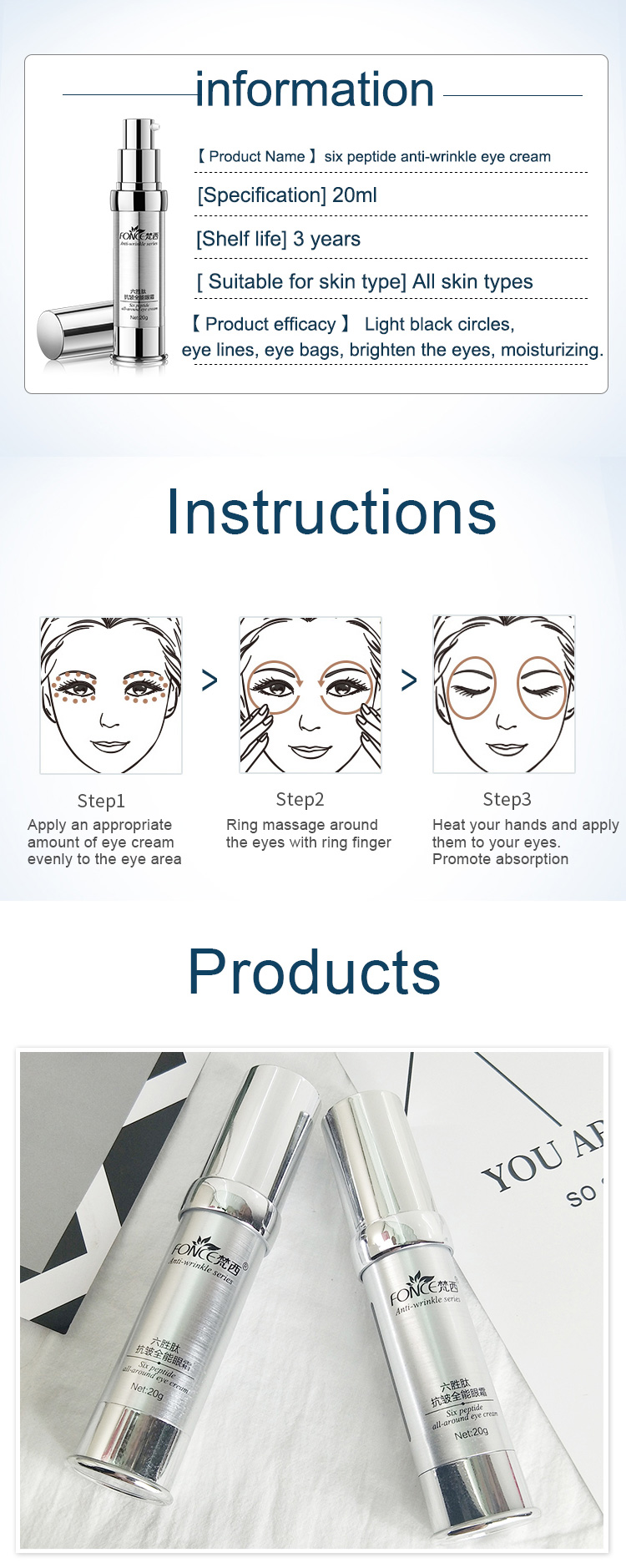 Korean-Skin-Care-Anti-Wrinkle-Eye-Cream-Six-Peptides-Anti-Aging-Remover-Dark-Circle-Firming-Moisturizing-eye-patches-Mask-20g_11