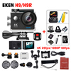 EKEN H9 Action Camera H9R Wifi Ultra HD Mini Cam 1080p 60fps Underwater 4k Sports Action