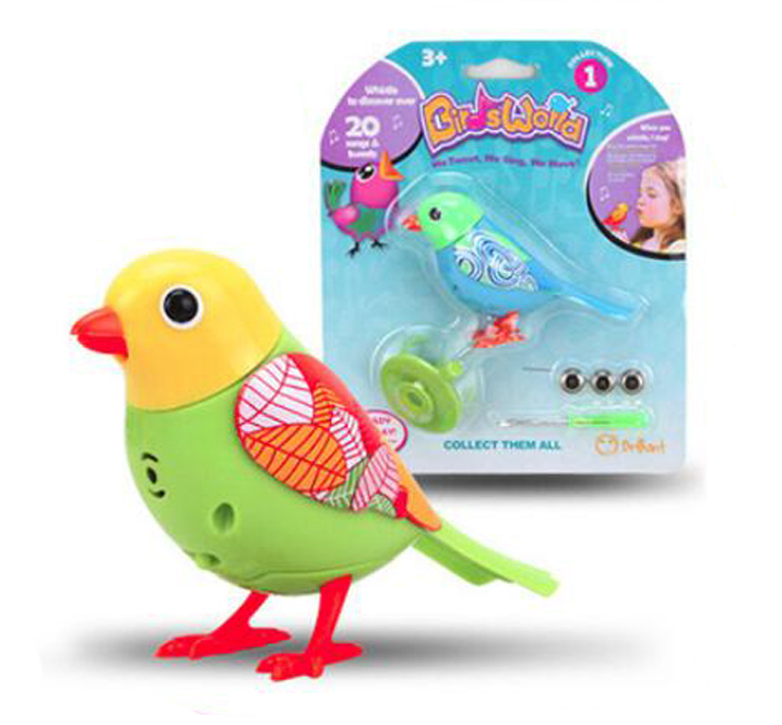 20 Songs Singing Sound Birds Pets Sing Solo intelligent Whistle Music Toys Digibirds Music Bird for Kids Children Electric Toy