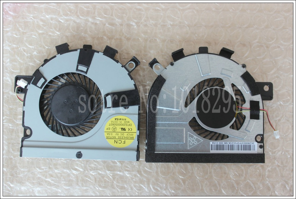 New Laptop CPU Cooling Fan for toshiba M50-A M40t-AT02S M40t E45T U40T AB07505HX060300 ADDA DC 5V 0.50A OCWZRMAA DFS200005060T