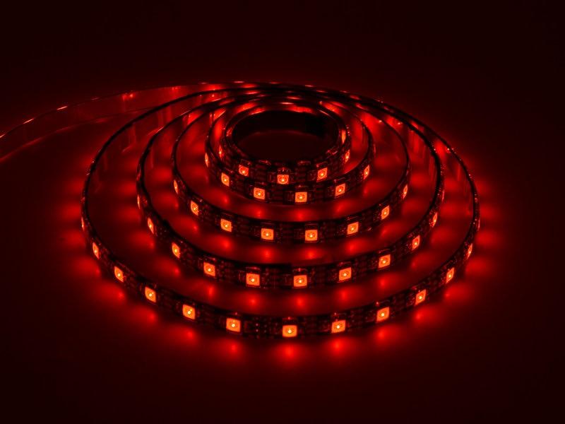 5V LED Strip Qara PCB nəzarətçi ilə 5050 RGB DC5V TV Fon İşıq - LED işıqlandırma - Fotoqrafiya 5