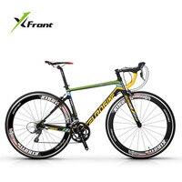 新しいブランドロードバイクカーボンファイバーフレーム16/18/20/22速度は700ccホイールレーシングサイクリング自転車屋外スポーツbicicleta