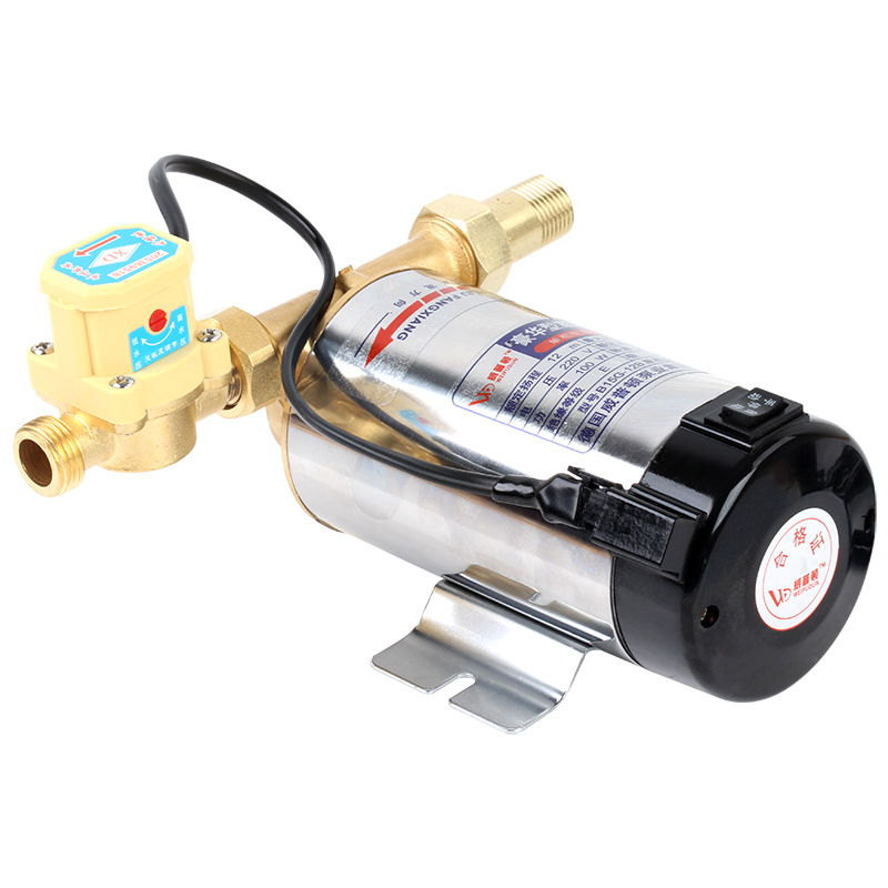220V Electric Water Pressure Booster Pump Boosting Pump Automatic Circulating Water Pipeline Pump 100W Y high pressure pumps water pressure booster pump 220v wide voltage operation mini electric water pump portable