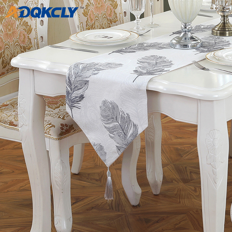 Adqkcly Modern Dining Room Table Runners Linen Flannel Fabric Tea Table Runner Decor Home Party Wedding Home Textile Supplies Table Runners Aliexpress