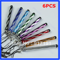 "Z101""6pcs/lot Mini Capacitive Stylus Touch Screen Pen For Apple iPhone 5 4 4s iPadFree Shipping"