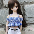 1/4MSD MDD 1/3 DD BJD doll can wear cute strap wrapped blouses - big breasts!