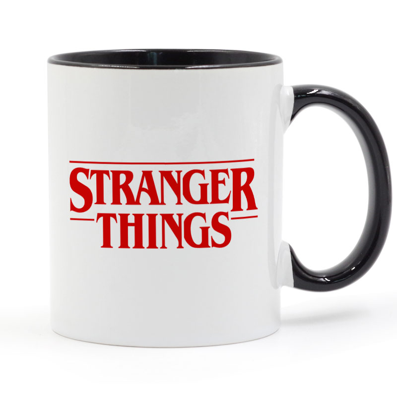 Stranger Things Logo Printed Mug Coffee Milk Ceramic Cup