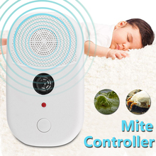 220V Ultrasonic Wave Electronic Mite Killer Household Bedroom Mite Controller Cleaner Bed Bug Dust Mite Killing Repeller